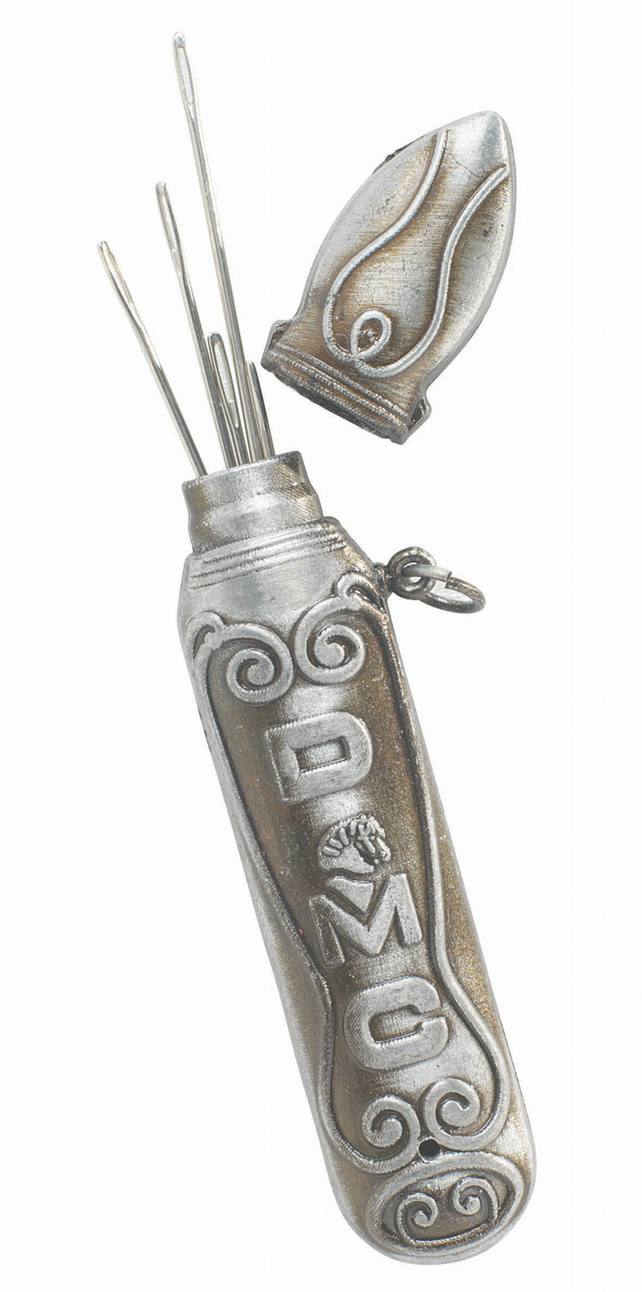 DMC  Vintage Style Needle Case - can attach to a chatelaine
