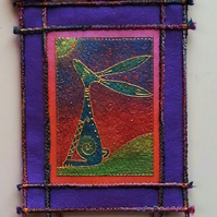 HHPO189 Moon Gazey Hare Wall Hanging