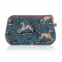 Whippet design Oilcloth Purse