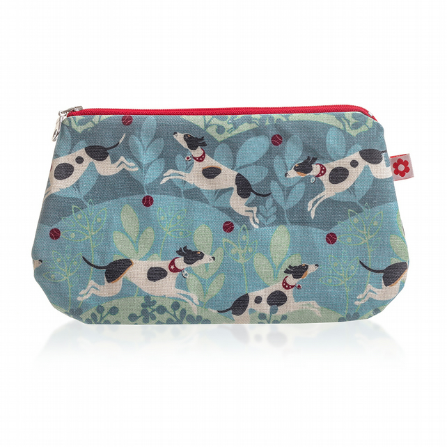 Hector design Oilcloth Purse