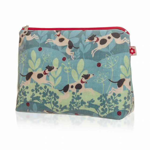 Hector design Oilcloth Washbag
