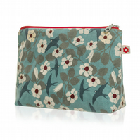 Swifts design Oilcloth Washbag