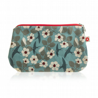 Swifts design Oilcloth Purse
