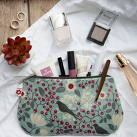 Rowan Bird design Oilcloth Purse