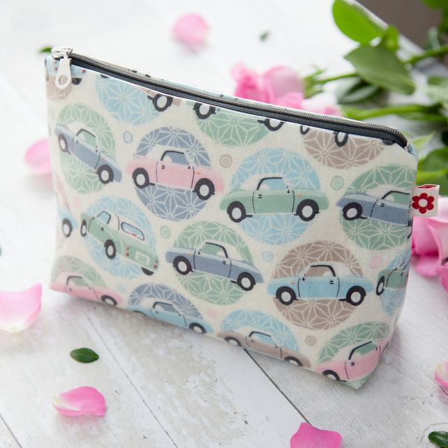 Figaro design Oilcloth Washbag
