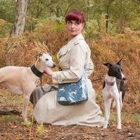 Whippet Oilcloth Cross Body Bag