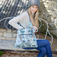 New! Wild Hare Oilcloth Shoulder Bag
