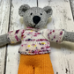 Cheeky Colourful Bear with Jumper and Shorts