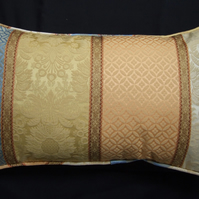 Brocade Cushion Cover, 40cm x 50cm, with Piped Edge