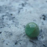 Number 2 Emerald Cabochon