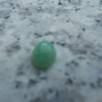 Number 3 Emerald Cabochon