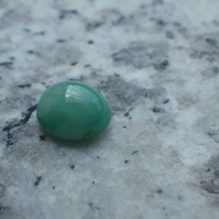 Number 4 Emerald Cabochon