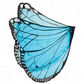 Stunning Chiffon Butterfly Wings