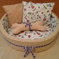 Designer luxury handmade soft pet bed, suitable for dogs & cats.