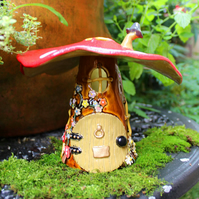 Fairy House Night Light or Tealight Holder