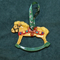 Handmade Festive Rocking Horse Christmas Tree Decoration