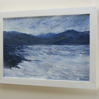 Northern sea, an original painting by Christopher. A. Smith