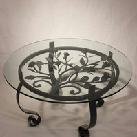 Coffee Table with Rose panel inlay