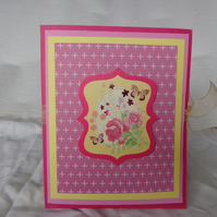 girls & young ladies set of handmade cards.