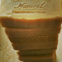 Oatmeal and Goatsmilk soap with beneficial Tamanu oil