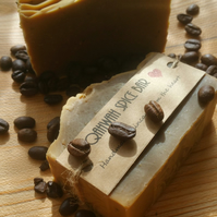 Handmade soap . Qahwah spice bar (spiced coffee soap)