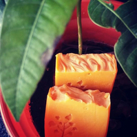 Natural Handmade Mango Lassi Soap.