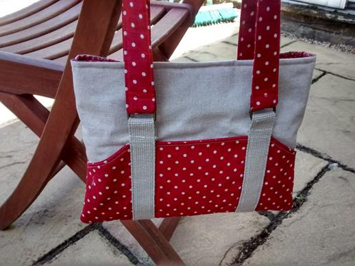 Red Spotty Tote Bag
