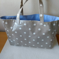 REDUCED Shopping Tote Bag in Cath Kidston Oilcloth