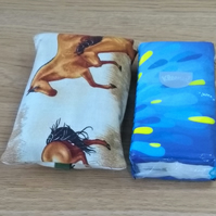 Pocket tissue cover horse print