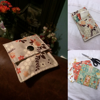 Handkerchiefs with storage pouch