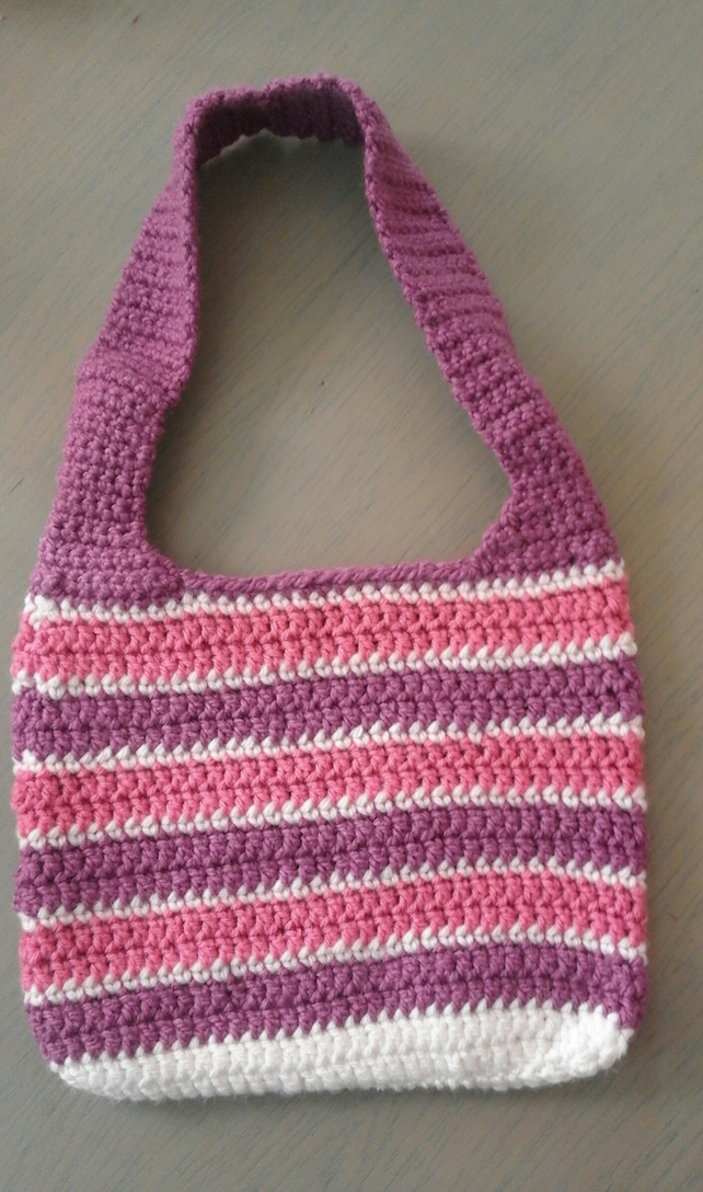 A lovely striped  bag