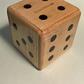 Money Box, Ash with Ebony dots