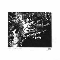 Limited Edition Engraved Print 'River Source'