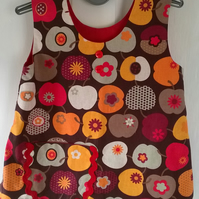 Toddlers Pinafore Dress.