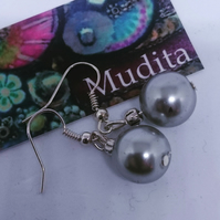 Lovely Dangly Sterling Silver Earrings