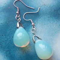 Beautiful Opal Stone Earrings