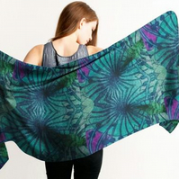 Luxurious Custom Printed Scarf - Original Design- Fans
