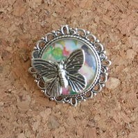 Little Round Butterfly Brooch