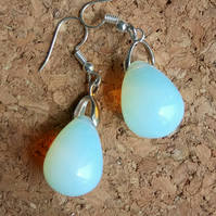 Beautiful Semi Precious Opal Stone Earrings