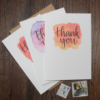 Thank You Card - 6 pack