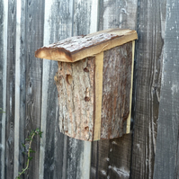 Reclaimed Larch Bird house