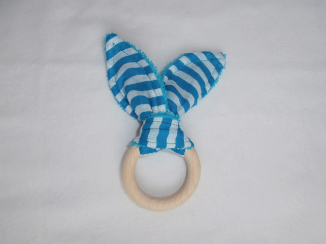 Baby Natural Teething Wooden Ring
