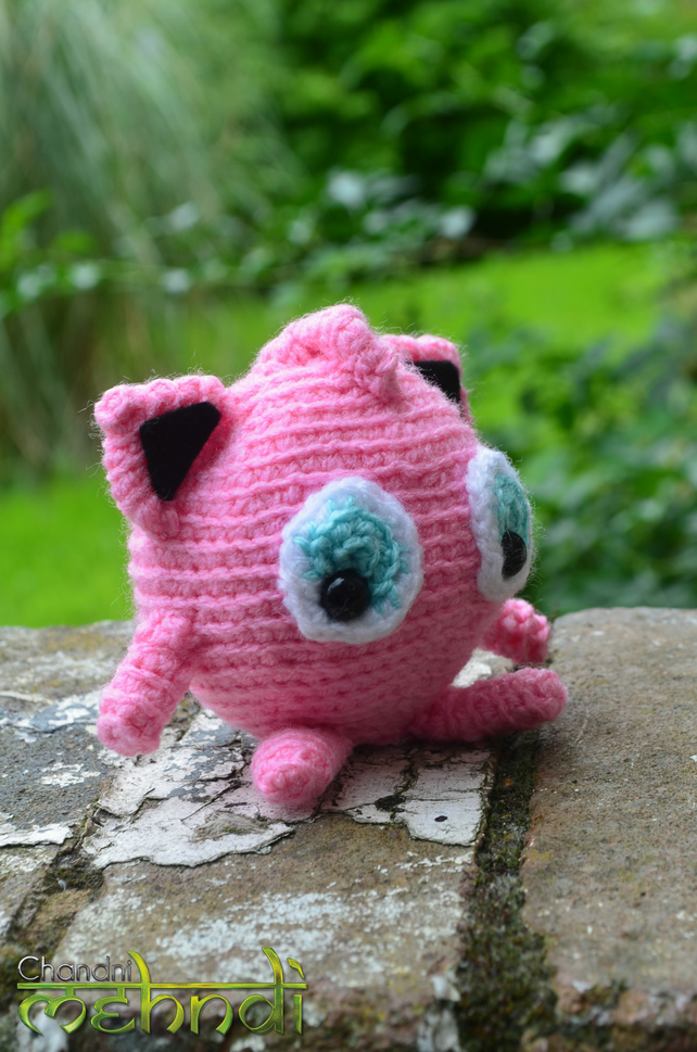 Jigglypuff with a Sunhat pattern by Beefcrow Art | Pokemon crochet ... | 969x642