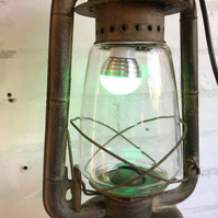 Handmade and Repurposed : Antique Hurricane Lamp Lantern
