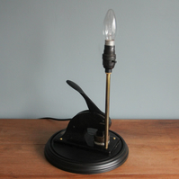 handcrafted and repurposed lamps : Bell Yard Company Stamp Lamp