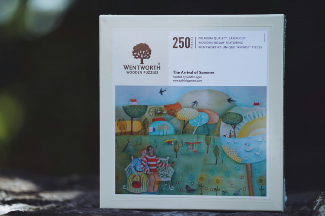 Art jigsaw, The Arrival Of Summer, wooden puzzles