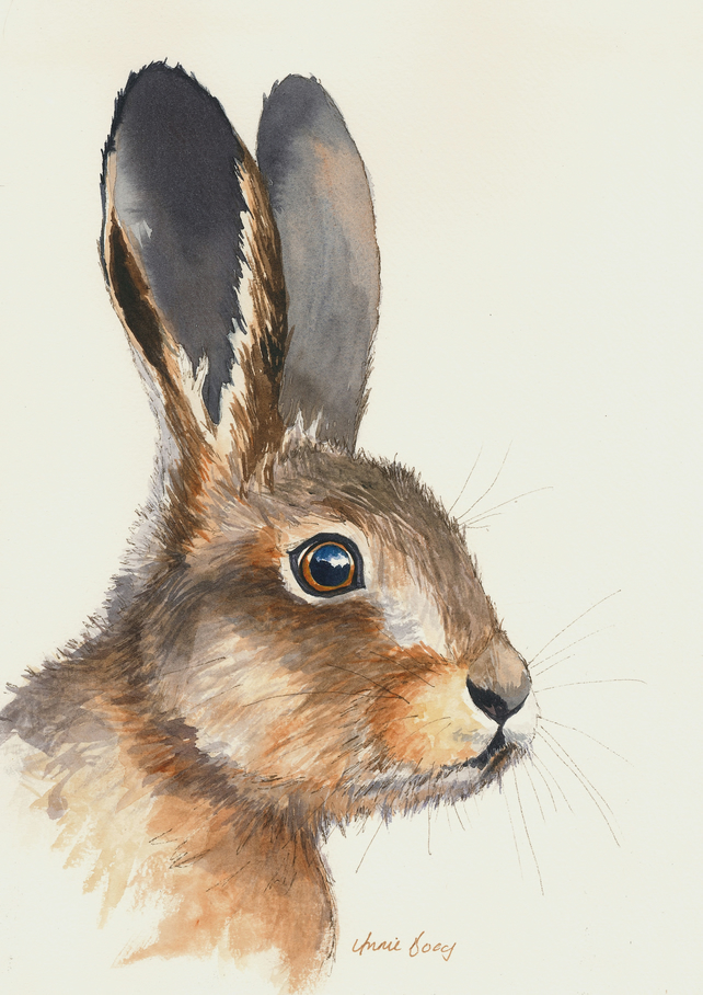 Leveret 3 Limited Edition Print A5