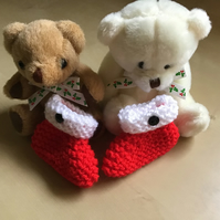 Christmas New Born Baby Shoes