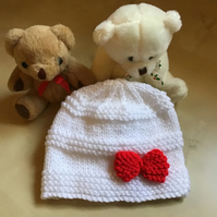 Christmas New Born Baby Beanie Hat