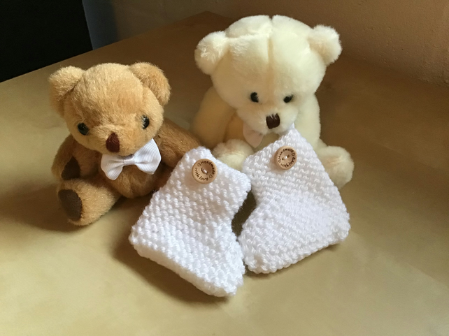New Born Baby Booties